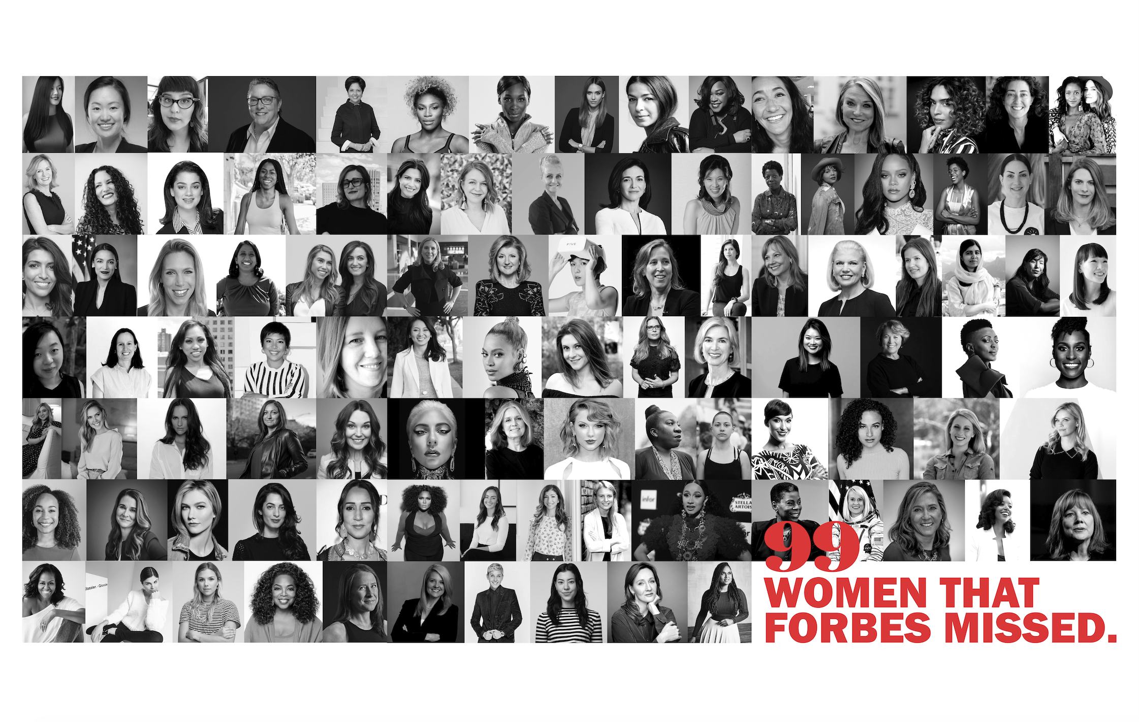 99 Women That Forbes Missed