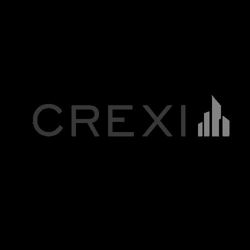 Crexi greyscale logo