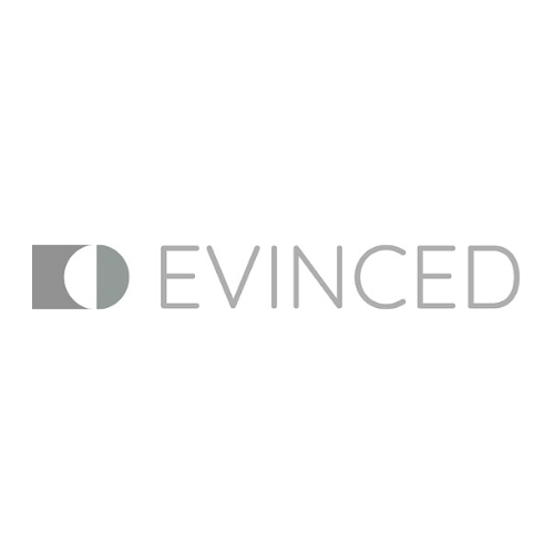 Evinced greyscale logo