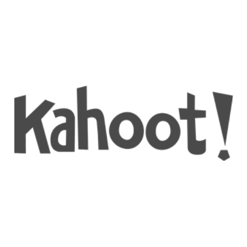 Kahoot greyscale logo