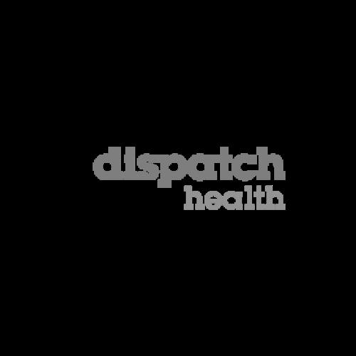 dispatchhealth greyscale logo